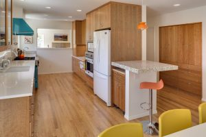 Example of remodeled kitchen cabinets