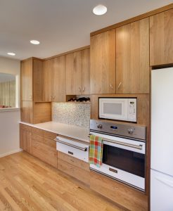 Example of remodeled kitchen counters
